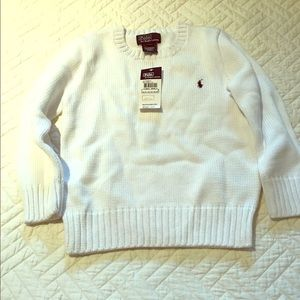 Boys Ralph Lauren polo sweater